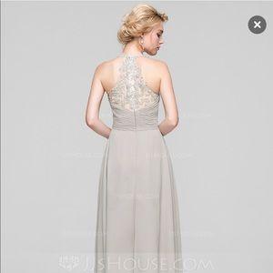 2cc2a25058f4 JJs House Dresses | Pearl Pink Sweetheart Chiffon Maxi Dress | Poshmark